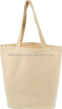 Natural 100% Cotton Recycled Tote Bag Shopper Tote Bag