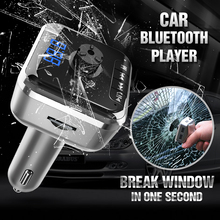 Factory price car bluetooth fm transmitter and hands free calls with mp3 player