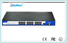 High EMC Level 4 Unmanageable 24 ports Industrial Ethernet Switch