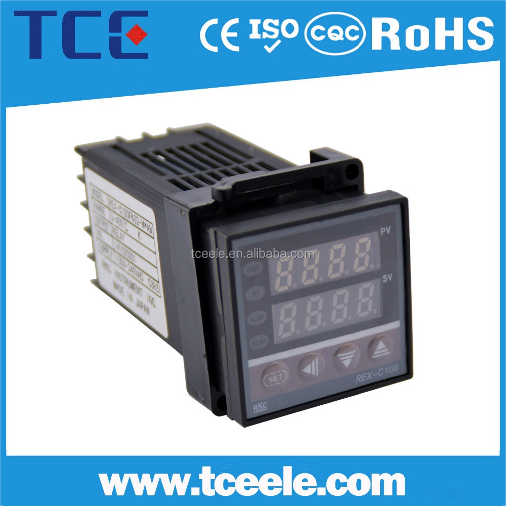 REX-C100 Intelligent PID xmtg digital temperature controller, rkc temperature controller