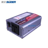 Suoer 2015 New Car Power Inverter 600W Inverter DC 12V to AC 220V Car Inverter
