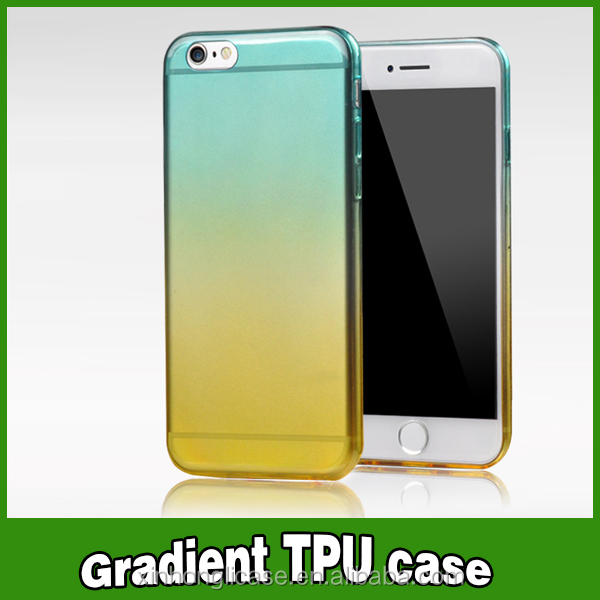 New Product Thin For Iphone 6 Gradient TPU Case