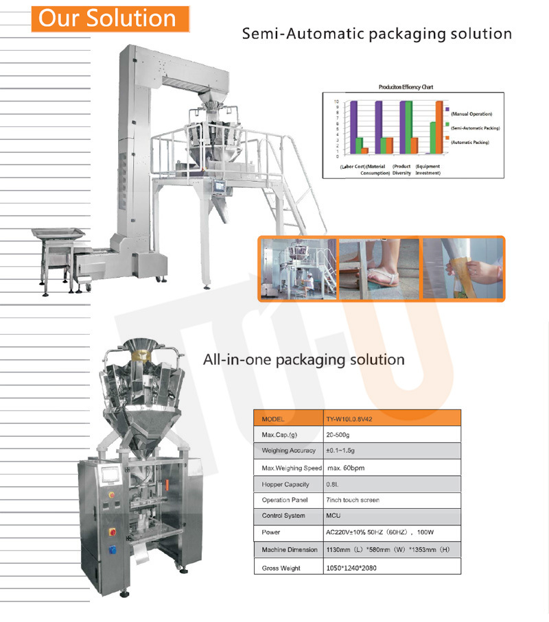 automatic vffs packing machine
