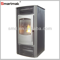 Cast iron domestic automatic feeding burning pellet stove,pellet small burning stove