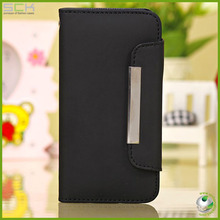 wallet flip leather case for iphone 5c,for iphone mini cover