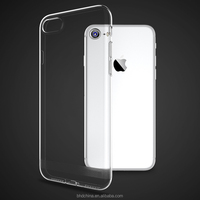 Clear Anti Knock Shock Soft Silicone TPU Case For iPhone 7 6 6s for Samsung Galaxy S7 S7 Edge Crystal Transparent Gel Skin