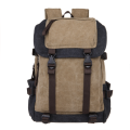 Wholesale durable school backpack canvas, stylish fashion laptop rucksack for school college