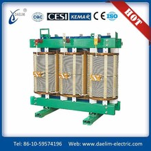 H class 6kv 800kva dry epoxy cast resin transformer