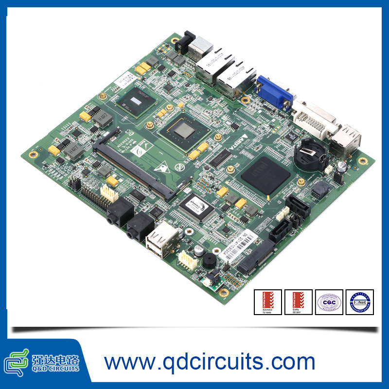 Oem pcb Small line space electronic control board