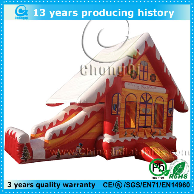 hot sale inflatable bounce house with slide for sale
