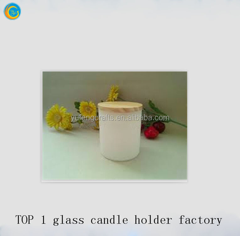 Ice-cream white wedding decorations cheap candle holders glass