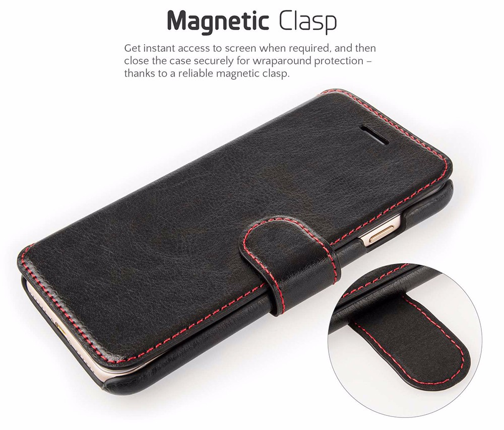 Size 100% Confirmed Tested With REAL Phone Genuine Real Leather Slim Case for iPhone 5 6 7 Flip Leather Case Cover New Stock