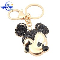 New Wedding Favors Promotional Gifts Cartoon Keychain Famous Cartoon Character Mickey Mouse Cute Key Chain for Car Keys