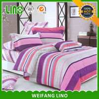 textile buying house bed cover 100% cotton printing bed sheet