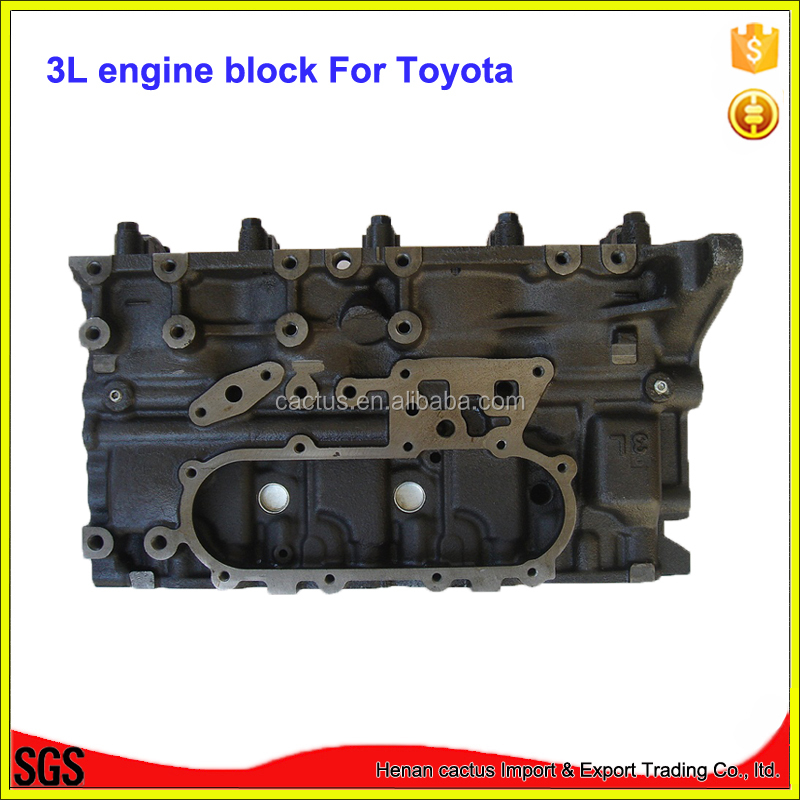 Motor 3L block engine cylinder block For toyota Hilux 4-Runner Hi-Ace