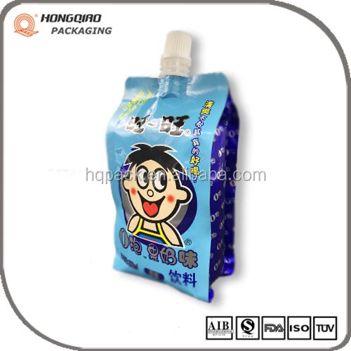 Disposable Drinking Bag With Spout