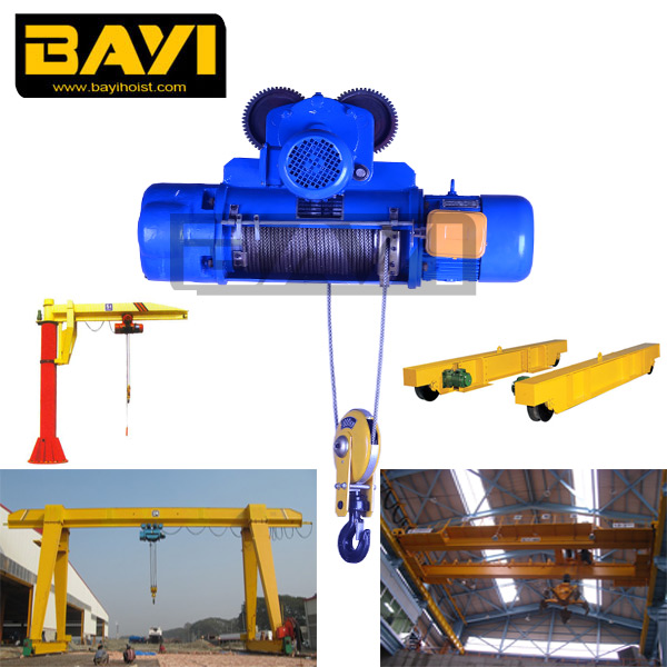 Cd1 Motorized Trolley Wire Rope Hoist Be Used With