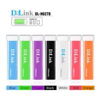 Blue color Lipstick Gloss 2600mAh Universal Mobile USB Portable Power Bank Induction Battery Charger