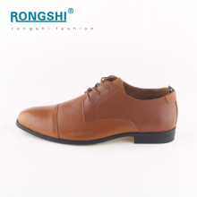 New style rubber outsole wholesale china shoe fancy fashion office leader business man dress genuine action leather shoes men