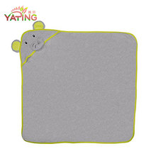 Cute Microfiber hooded animal towels for toddlers