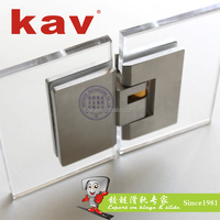 bathroom heavy duty shower door hinge SS 304 glass door hinge