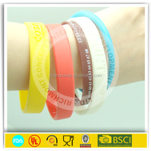 Slap On Wrist Silicone Bracelet