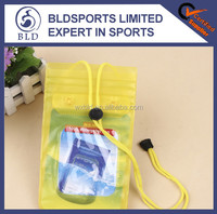 Wholesale price promotional clear PVC cellphone bag waterproof