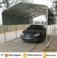 strong and sturdy carport and metal roof portable garage
