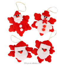 Tree Decorations Small Father Christmas Plush toy
