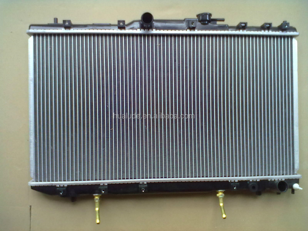 high quality aluminum brazed welding auto car radiator for TOYOTA CALDINA