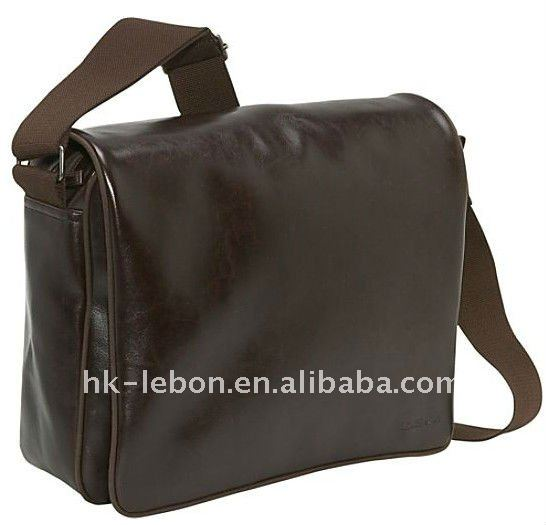 Hot sale Fashion Men's Portable leather handbag
