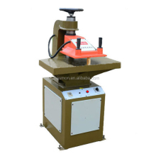 GSB/2C-12T leather die cutting press machine, hydraulic swing arm cutting machine