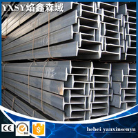 building construction hot rolled I beam steel