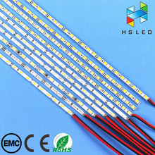 12V 4MM Ultra Thin SMD 3528 2835 5730 7020 3014 Led Rigid Bar Strip for Indoor Light Box