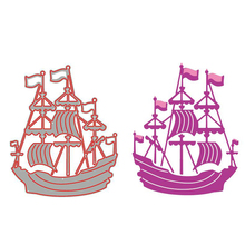 Sailing Metal Die Cut Embossing Stencil For Card Making
