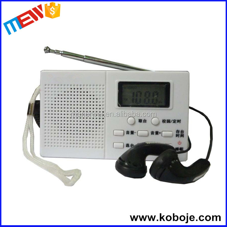 Morning jogging single speaker antenna best portable bicycle bathroom radio