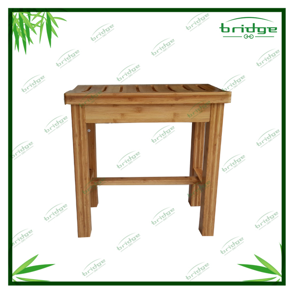 New design small size Bamboo 2-tiers stool