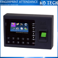 KO-B3-C 3inch TFT Screen Fingerprint Time Attendance Terminal B3-C RS232/485 TCP/IP 3000pcs Fingerprint Capacity