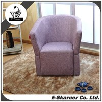 E-Skarner purple color customized sofa furniture for living room with arm