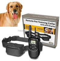 Amazon Top Seller Remote Control Dogs Training Collars , Electric Pets Training Collars