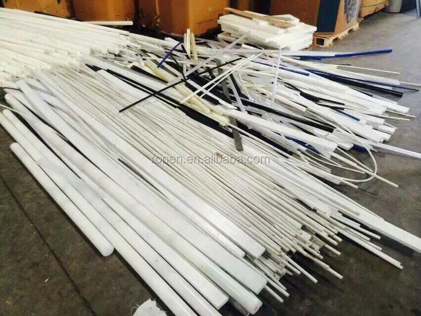 1mm 2mm nylon extrusion rod nylon plastic rod beat engineering plastic rod with different size as order