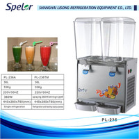Mixer hot drink dispenser