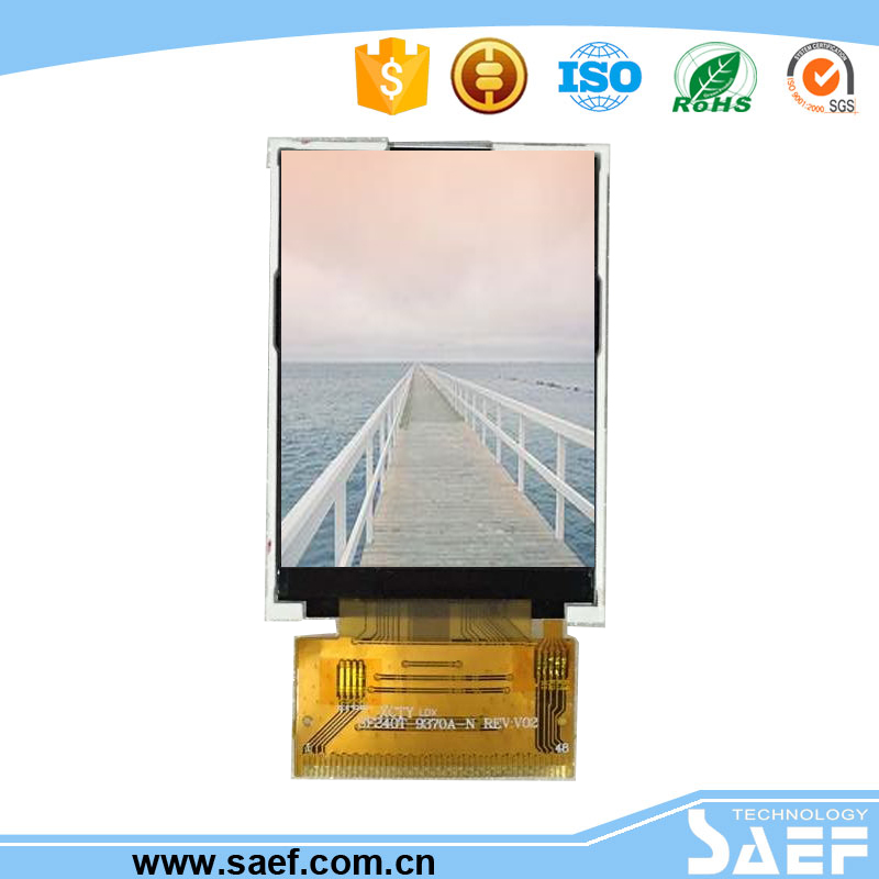 2.4 inch qvga lcd display screen module with 240*320 tft display touch screen for widely used