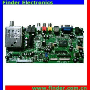 LCD MainBoard for 15-22 inch TV and Monitor with Dual / Single LVDS LCD Panel
