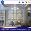 Living home decorative 3d wall panels 400*400mm pu 3D leather wall board