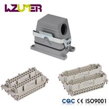 WZUMER HE48 48 pin battery connector outdoor multi pin plug sockets power waterproof cable heavy duty connector