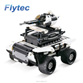 Flytec 2017A-9 529pcs Block Brick 4 Channel 2.4Ghz 10 - in - 1 DIY Building Block Remote Control Off Road RC Car