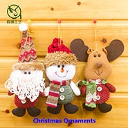 Funny Handmade hanging new felt christmas decoration