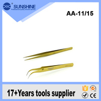 ESD AA-11/15 Widely use Stainless Steel ESD Tweezers