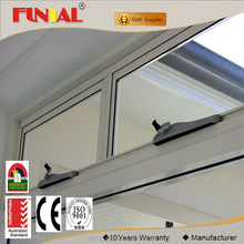 Double low-e glass chain winder opening hung aluminum window